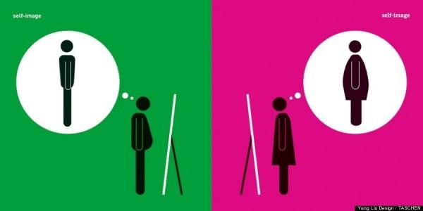 Ilustraciones sobre sexismo